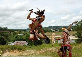 Tarian Daerah Suku Dayak