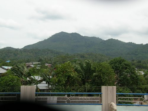 Gunung Bamega Kabupaten Katabaru