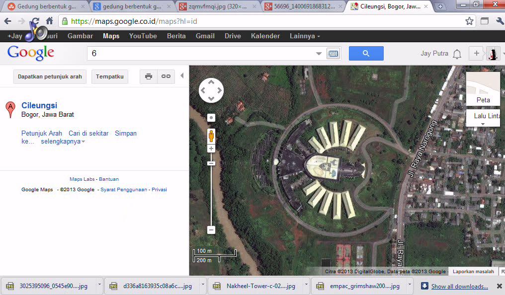 GGTI dari google maps