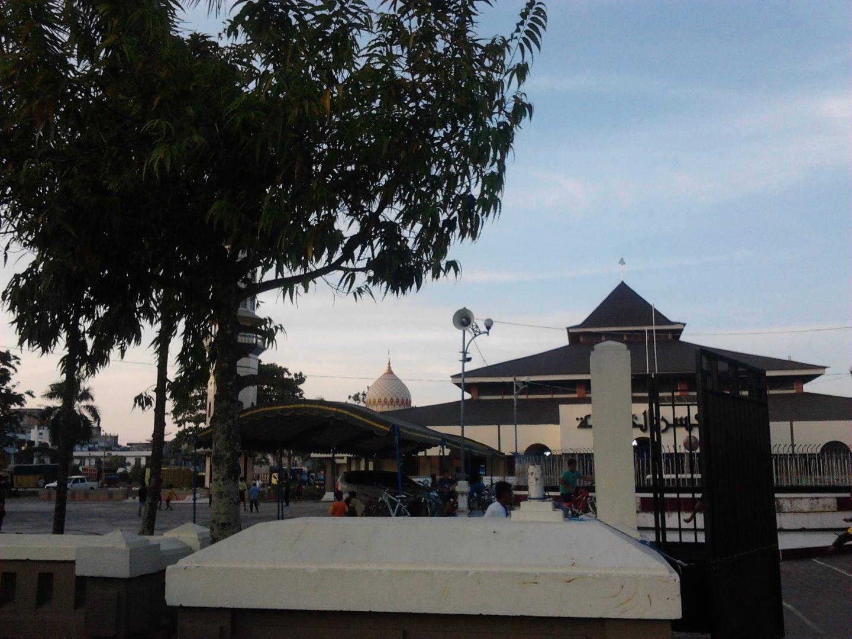 Mesjid Raya Kabupaten Kotabaru.